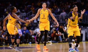 Sparks rally to beat Phoenix 79-66 in WNBA playoffopener