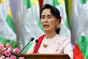 As Rohingya flee violence, Myanmar's Suu Kyi skips UNmeet