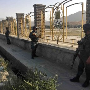 Officials: Bomber kills 7 outside Afghan cricket stadium