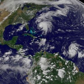 Strengthening Hurricane Maria a threat to Irma-hitCaribbea