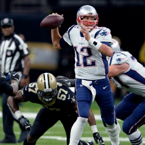 Brady torches Saints in 36-20 Patriotsvictory