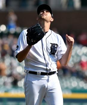 Detroit's Boyd falls an out short ofno-hitter
