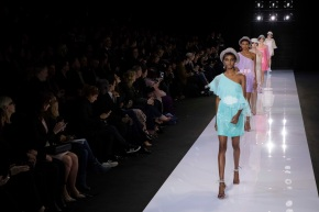 Erdem sparkles with glamour in London Fashion Week catwalk