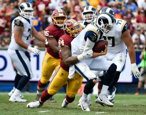Redskins pound Rams on ground in 27-20victory