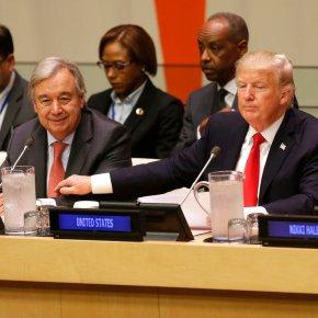 The Latest: Trump calls for reform atUN