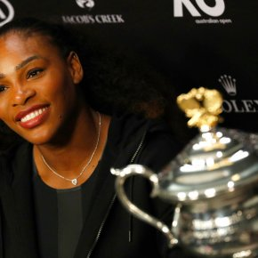 New mom Serena Williams thanks mother for being a role model