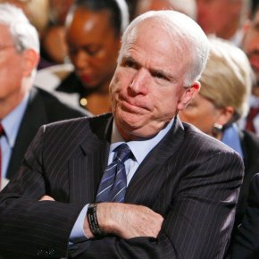 McCain's moment: Ailing senator plays spoiler again for GOP