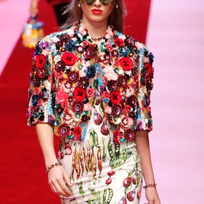 Dolce&Gabbana court youth with offbeat looks inMilan