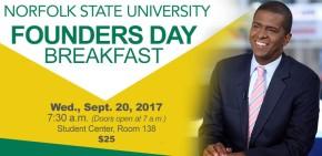 Political commentator Bakari Sellers to speak at NSU Founders DayBreakfast