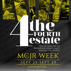 MCJR Week, Sept. 25-29, examines the Fourth Estate