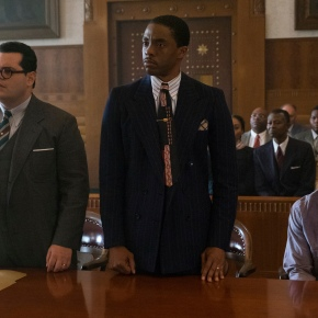 Boseman, Hudlin team up to portray a young ThurgoodMarshall