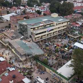 Mexico bars quake-collapsed school in capital from operating