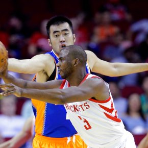 Chris Paul helps Rockets rout Shanghai Sharks