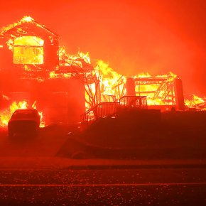 The Latest: Over 100 reported missing in California wildfire