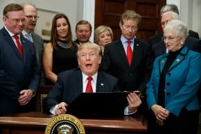 The Latest: Democrats slam new Trump healthpolicy
