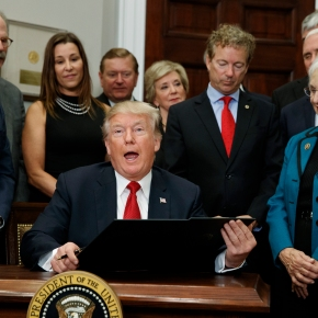 The Latest: Democrats slam new Trump health policy