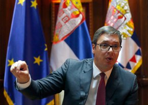 AP Interview: Serbia's leader vows to lead nation into EU