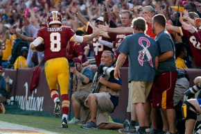 Cousins inconsistent as Redskins hold on to beat 49ers