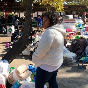 California fire victims return home as crews gainground