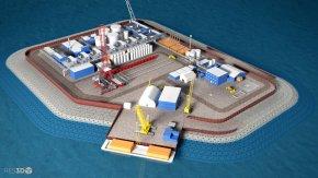Company seeks to build island off Alaska for Arcticdrilling