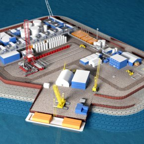 Company seeks to build island off Alaska for Arctic drilling
