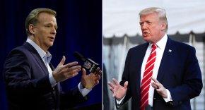 Trump again blasts NFL over players kneeling duringanthem