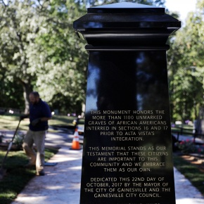 Georgia town to honor graves of more than 1,100 blacks