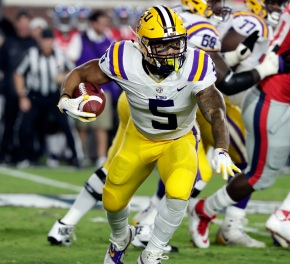Guice leads No. 24 LSU over Ole Miss 40-24