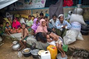 The Latest: $340 million pledged to help Rohingyarefugees