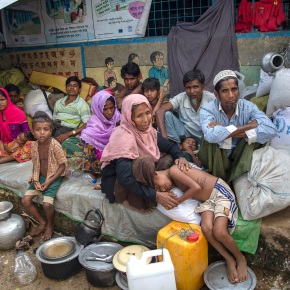 The Latest: $340 million pledged to help Rohingya refugees