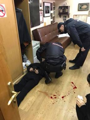 Prominent journalist at news radio station stabbed inMoscow