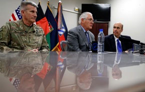 Tillerson makes unannounced side trip to Afghanistan