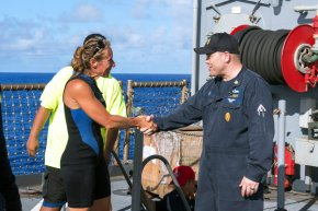 Sharks and lost hope: 2 women rescued after 5 months atsea