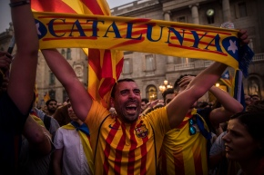 The Latest: Catalan separatists shrug off Spain's powerplay