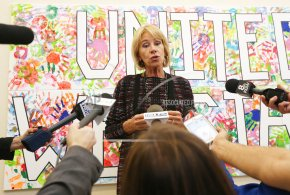 DeVos touts school choice, STEM for $4 billion ingrants