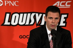 Nervous Padgett set for head coaching debut at Louisville