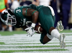 Fumbles still holding Spartans back with Penn State looming
