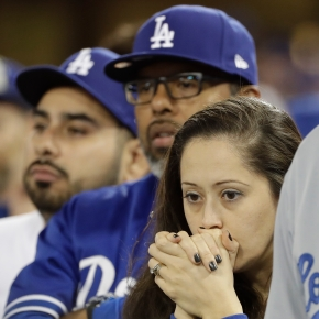 Deflated Dodger fans face bitter taste of World Series loss