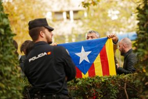 The Latest: Spain says it obeys judges in Catalan cases