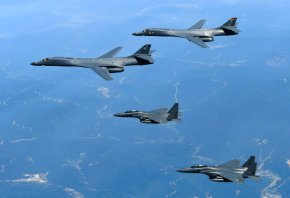 US B-1B bombers conduct exercise over KoreanPeninsula