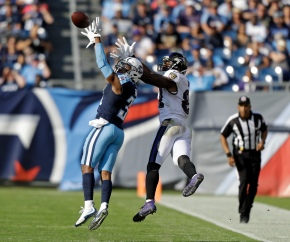 Back from bye, Titans beat Ravens 23-20 for 3rd straightwin
