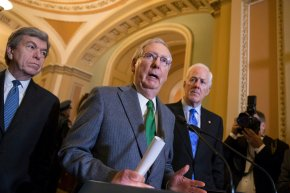 The Latest: Ryan says GOP must succeed on taxoverhaul