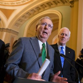 The Latest: Ryan says GOP must succeed on tax overhaul