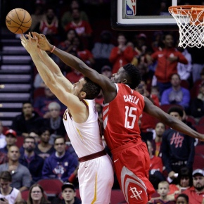 Harden has triple-double, Rockets hold off Cavs 117-113