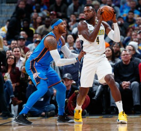 Mudiay's 21 points leads Nuggets past Thunder102-94