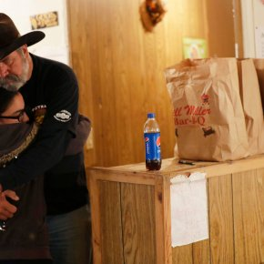 Food pantry brings mourners together after church shooting