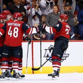 Scheifele scores 100th career goal, Jets beat Coyotes 4-1