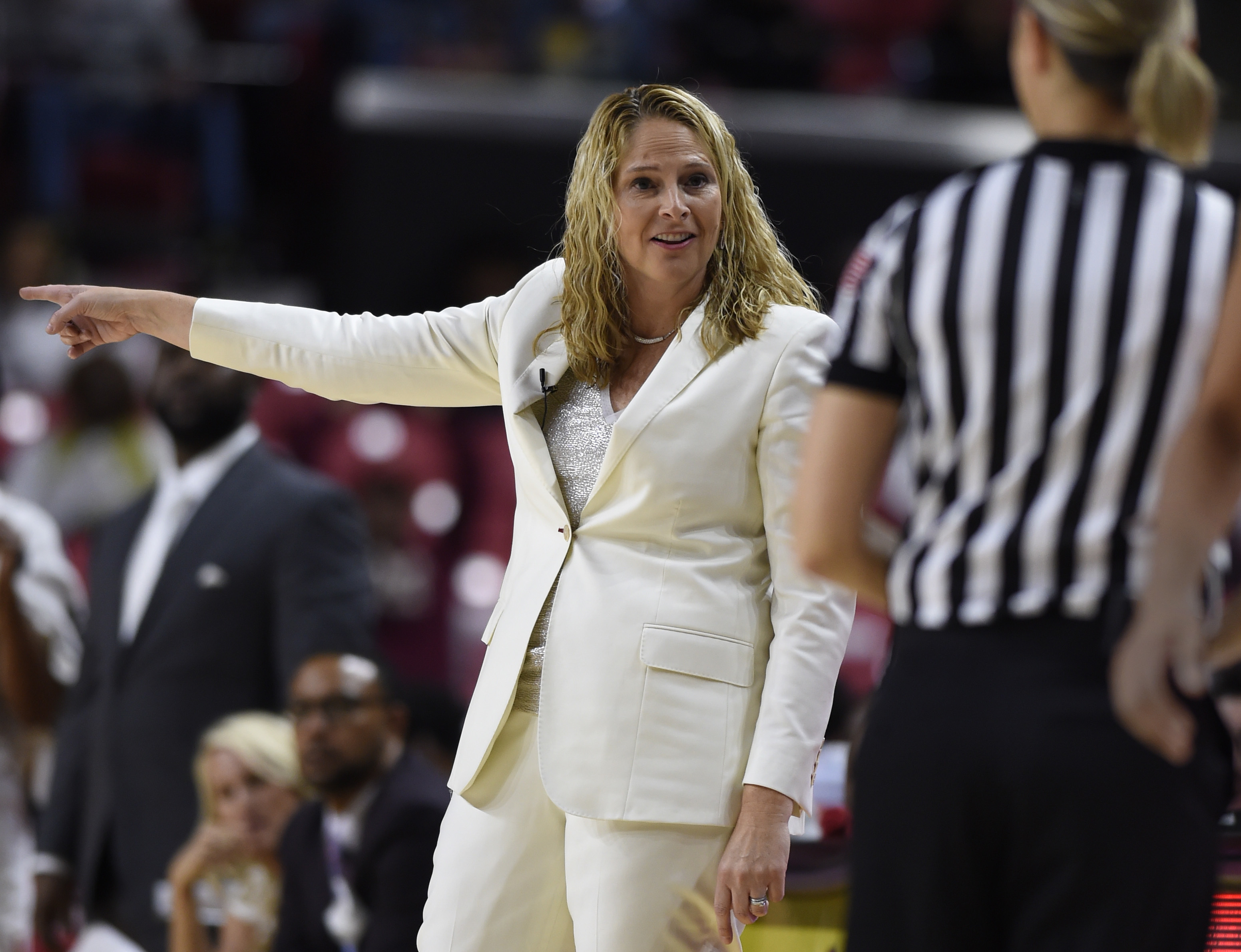 Maryland Women Comeback Attempt Falls Short Against Defending Champ South Carolina
