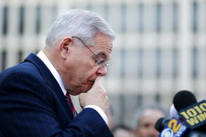 New Jersey senator's bribery trial ends in a hung jury