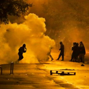 Violence in Greece breaks out after annual US Embassymarch